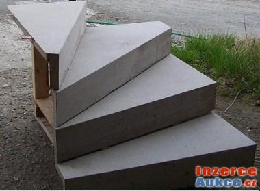 Schodnice betonové